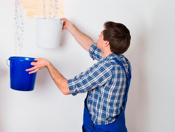 Mejores prácticas para reparar goteras