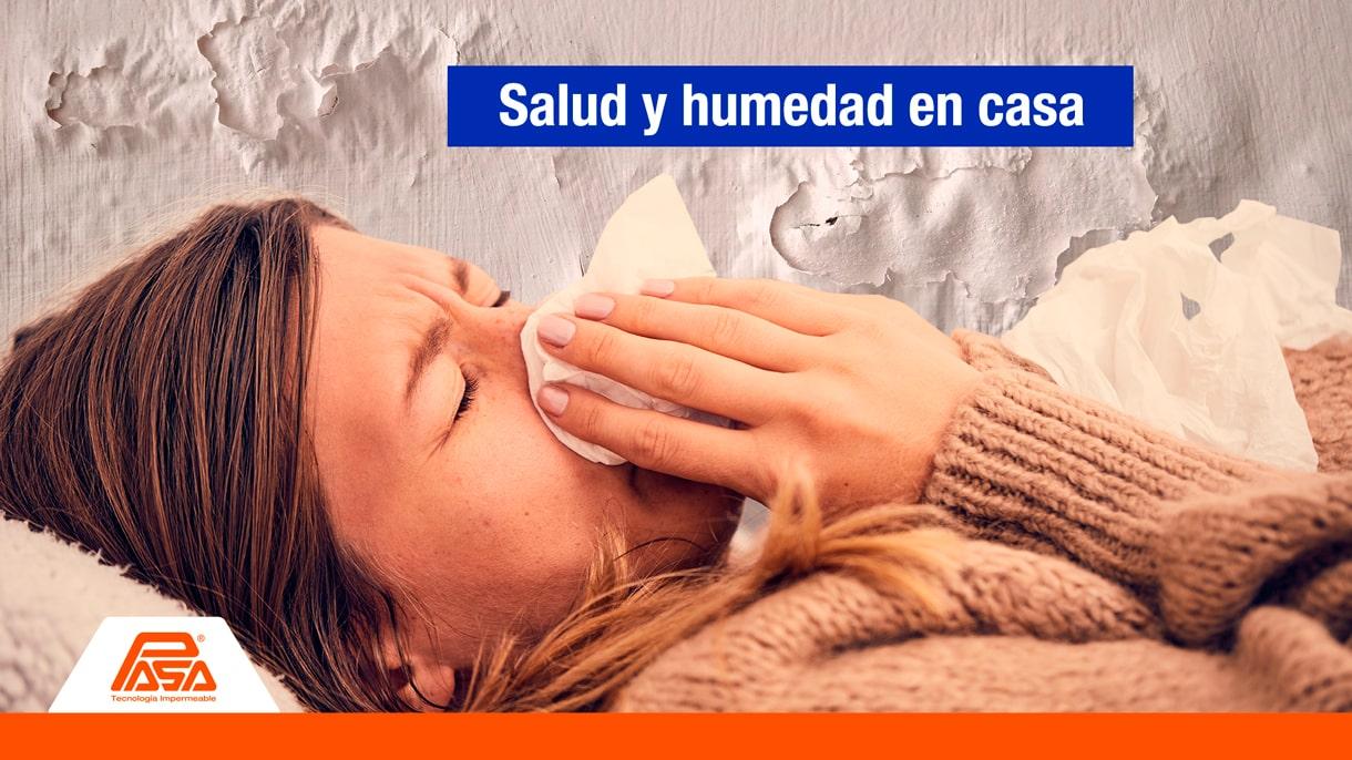 Humedad en casa y cómo afecta a la salud